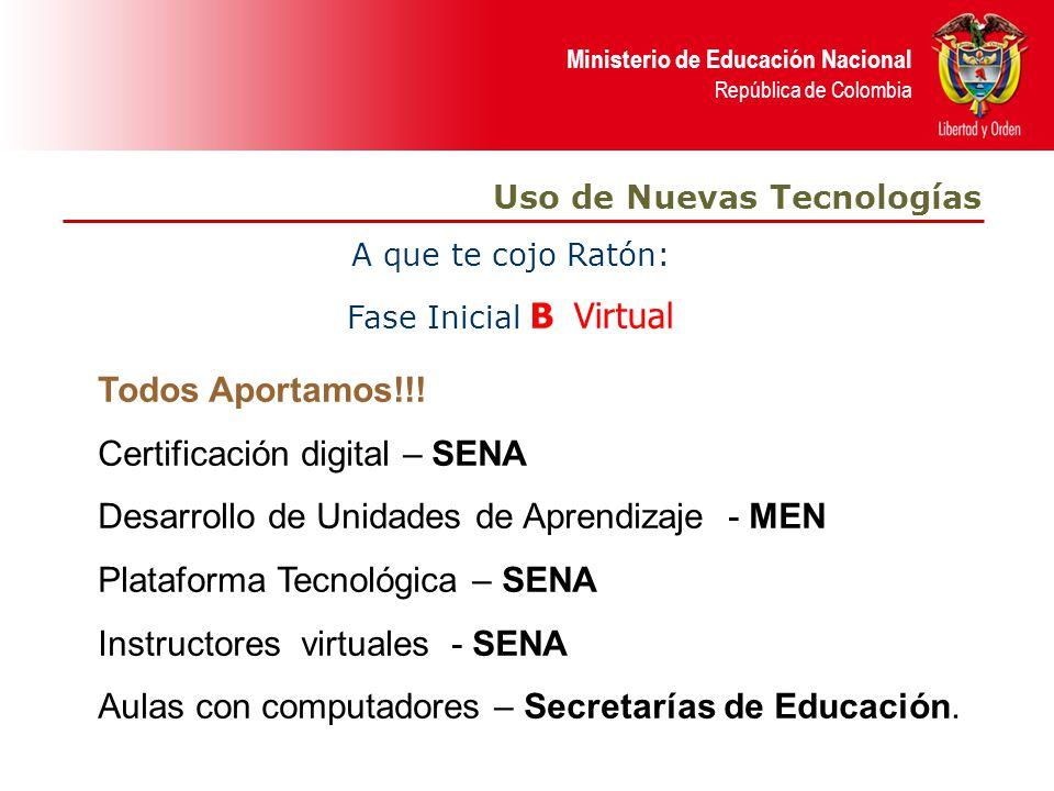 Certificación digital – SENA