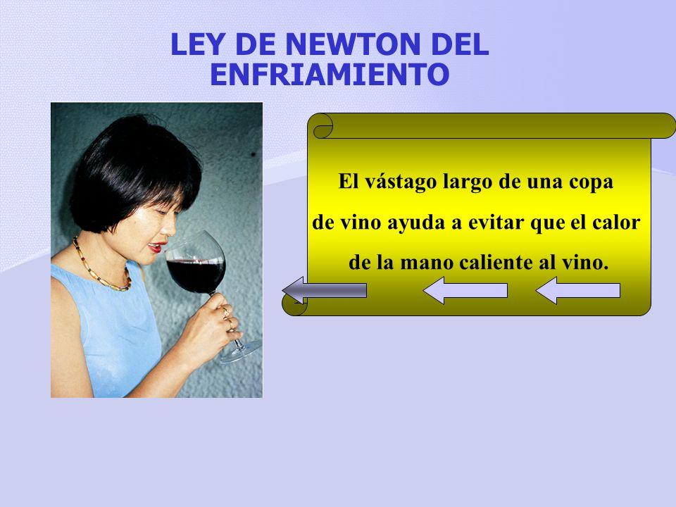 LEY DE NEWTON DEL ENFRIAMIENTO