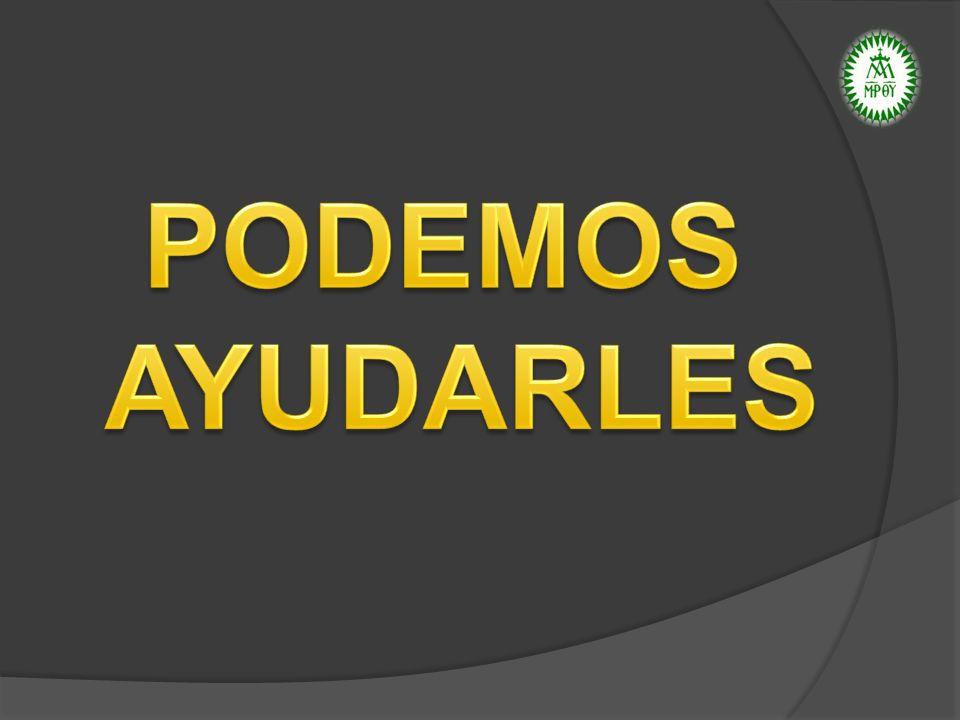 PODEMOS AYUDARLES
