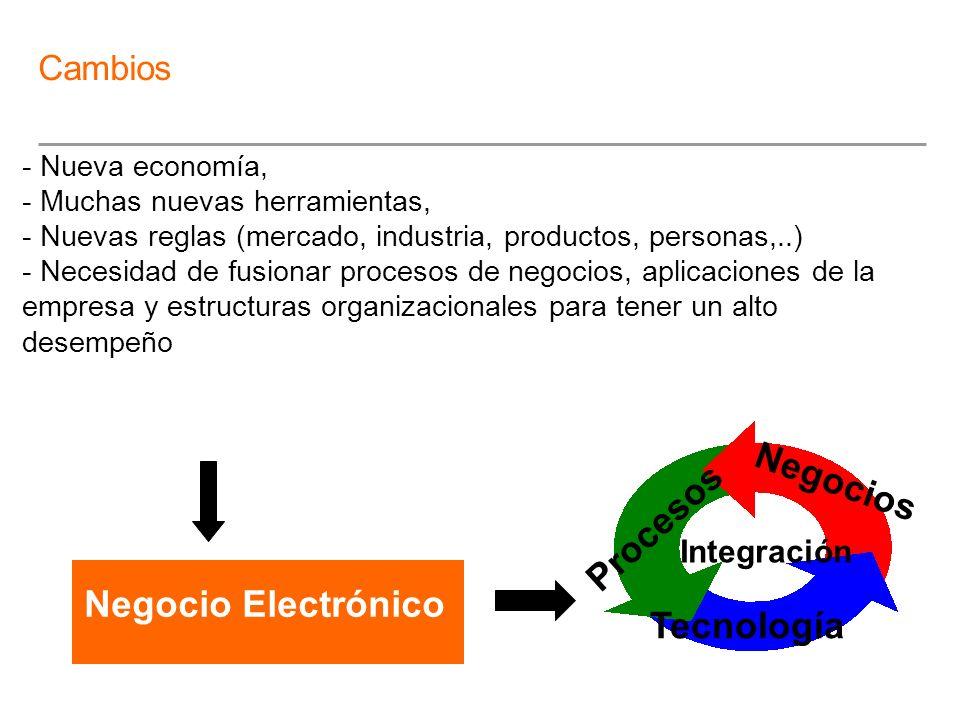 Negocios Procesos Negocio Electrónico Tecnología