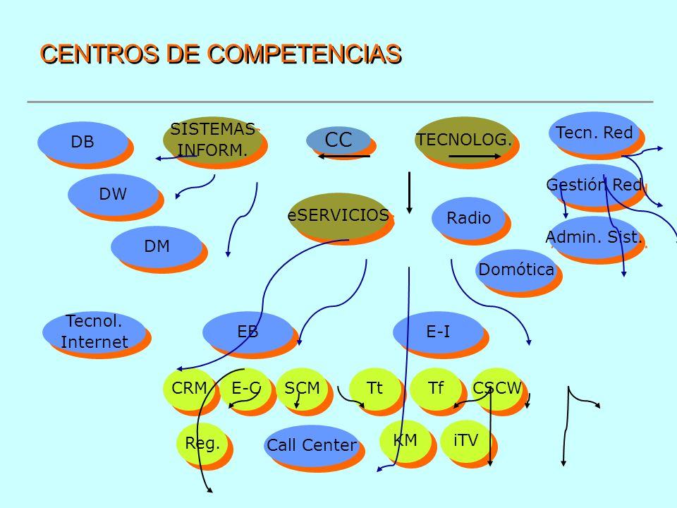 CENTROS DE COMPETENCIAS