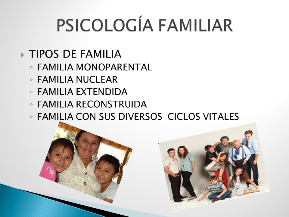 Universidad autonoma de chiriqu facultad de humanidades Tipos de familia nuclear