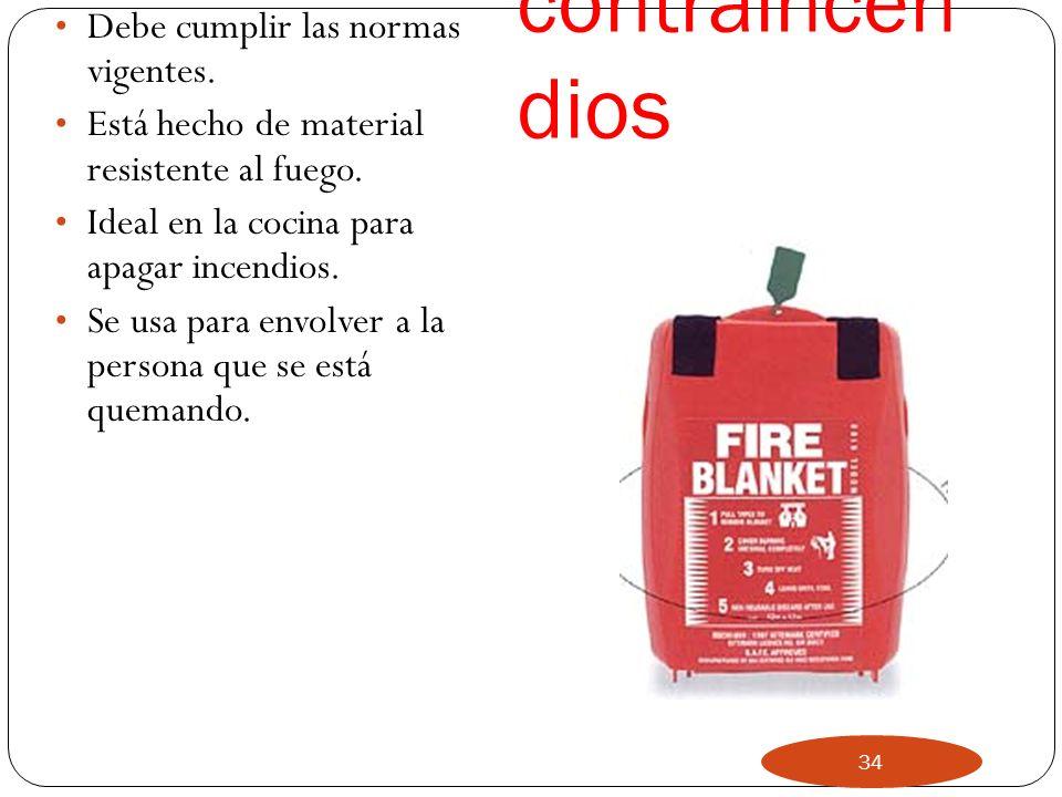 Manta contraincendios