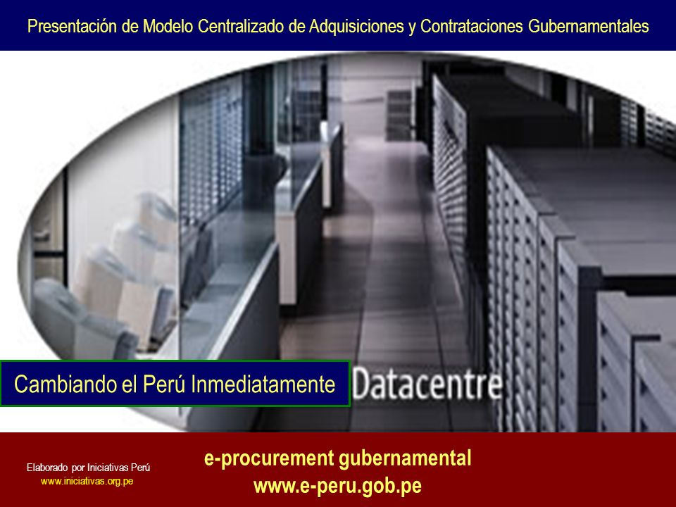 e-procurement gubernamental