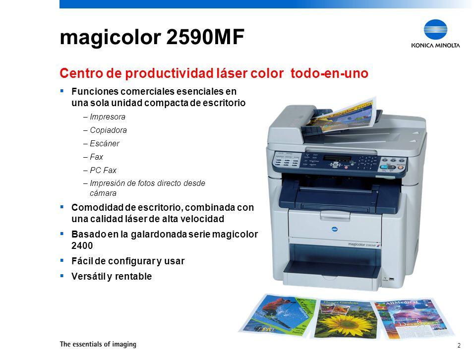 magicolor 2590MF Centro de productividad láser color todo-en-uno
