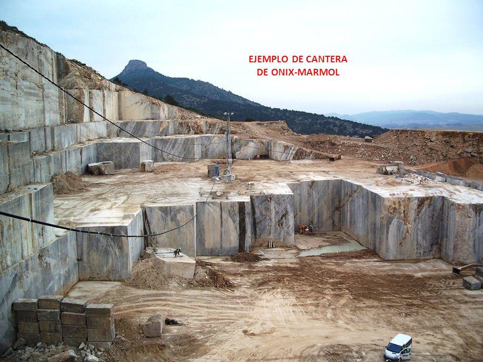Rocas de onix el termino onix es la denominaci n for Composicion del marmol
