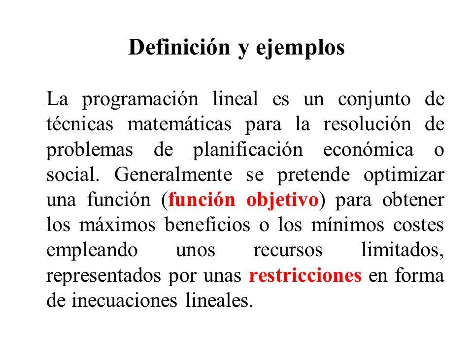 Definición y ejemplos