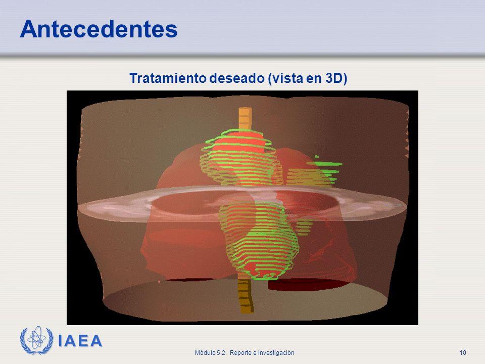 Antecedentes Tratamiento deseado (vista en 3D)