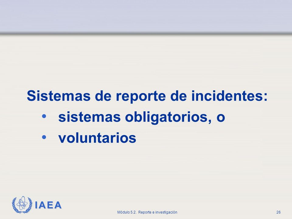 Sistemas de reporte de incidentes: