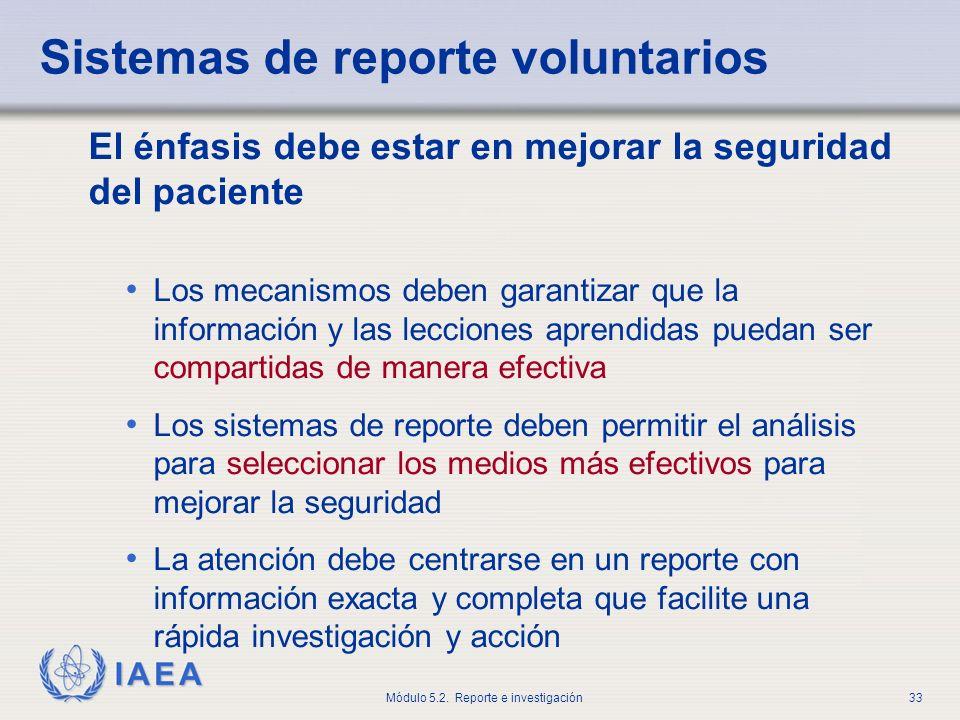 Sistemas de reporte voluntarios