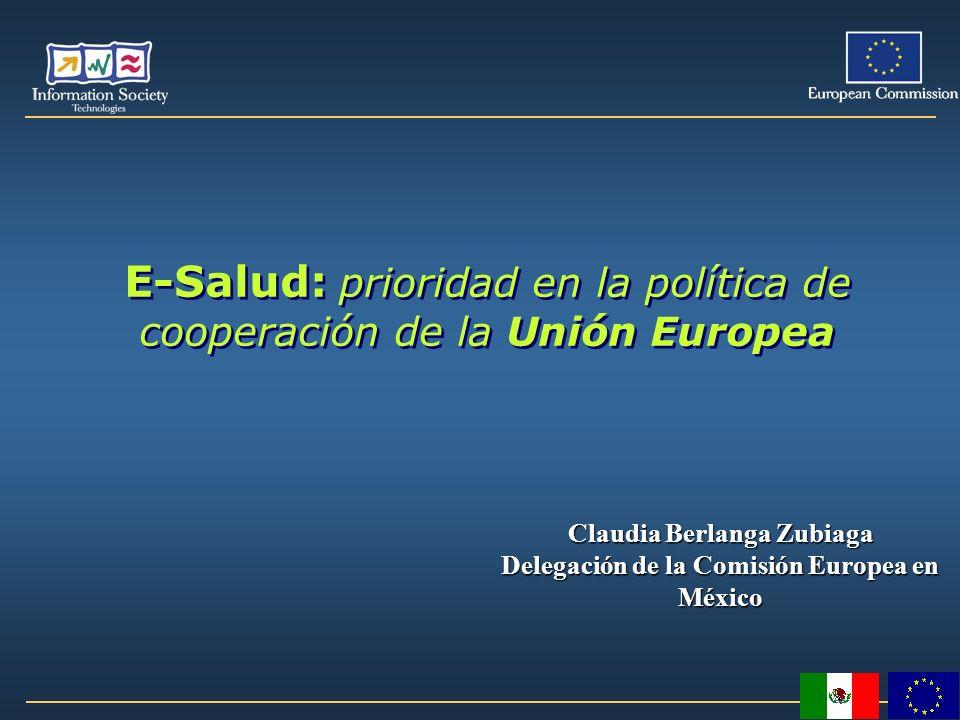 E-Salud: prioridad en la política de cooperación de la Unión Europea