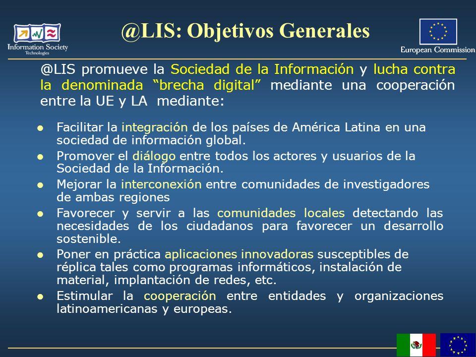 @LIS: Objetivos Generales