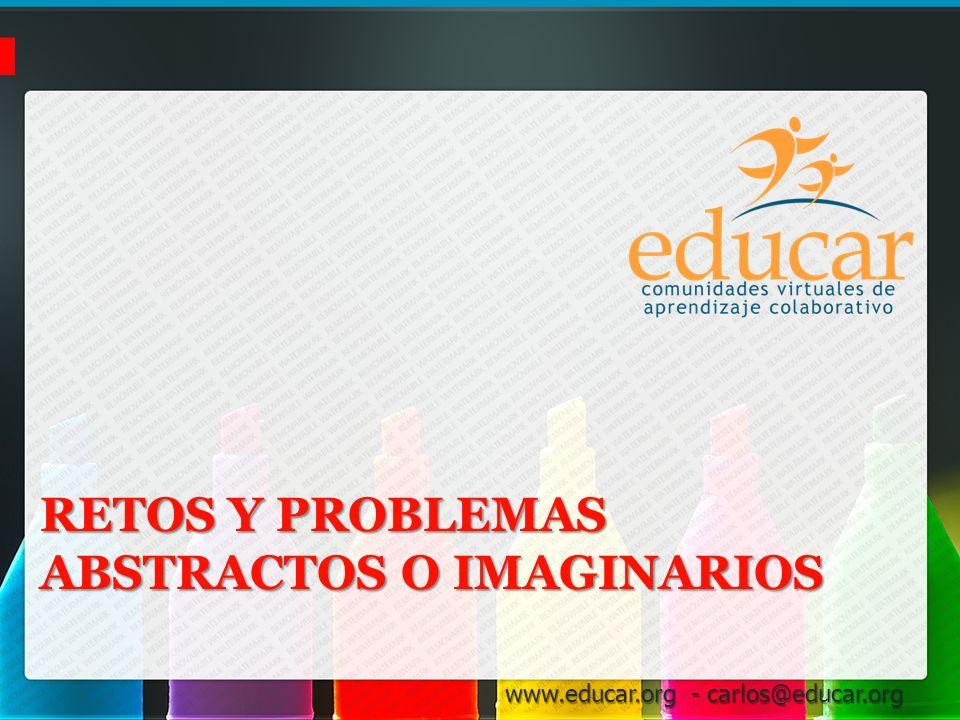Retos y Problemas Abstractos o Imaginarios