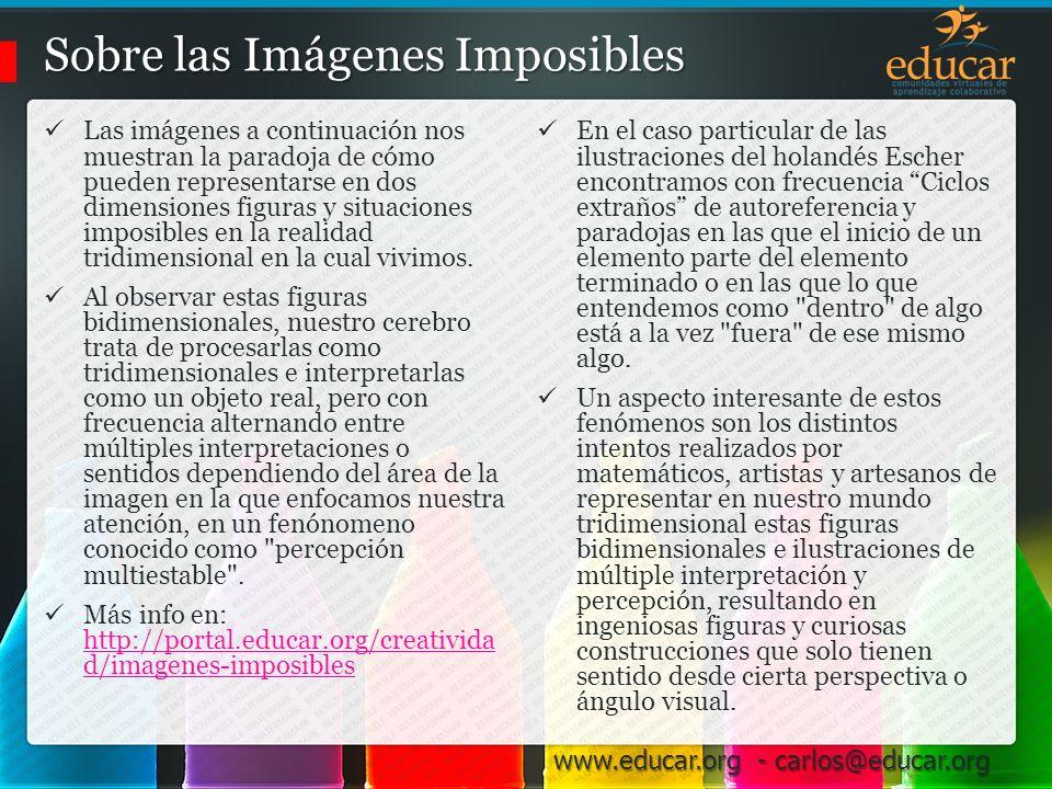 Sobre las Imágenes Imposibles