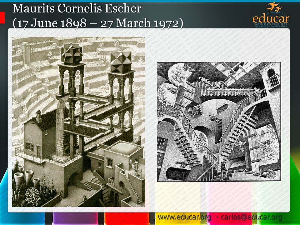 Maurits Cornelis Escher (17 June 1898 – 27 March 1972)
