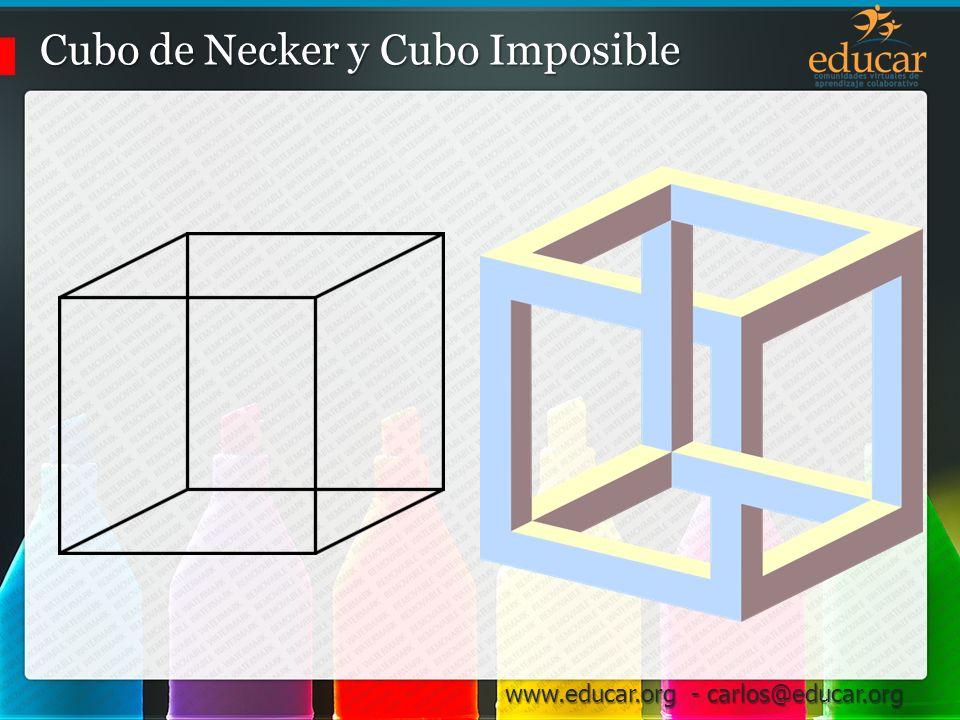 Cubo de Necker y Cubo Imposible