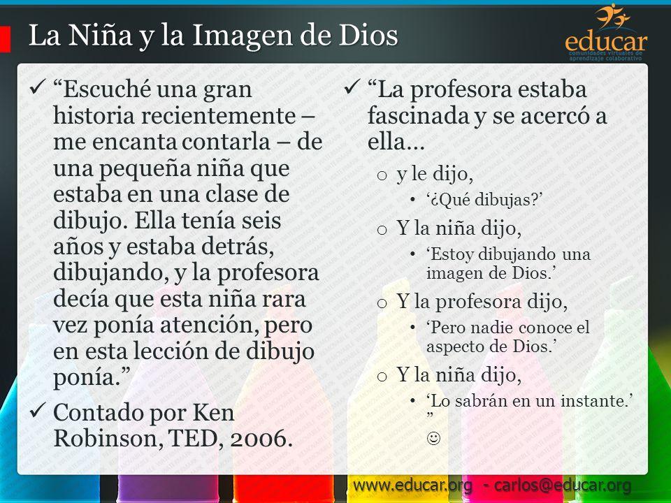 La Niña y la Imagen de Dios