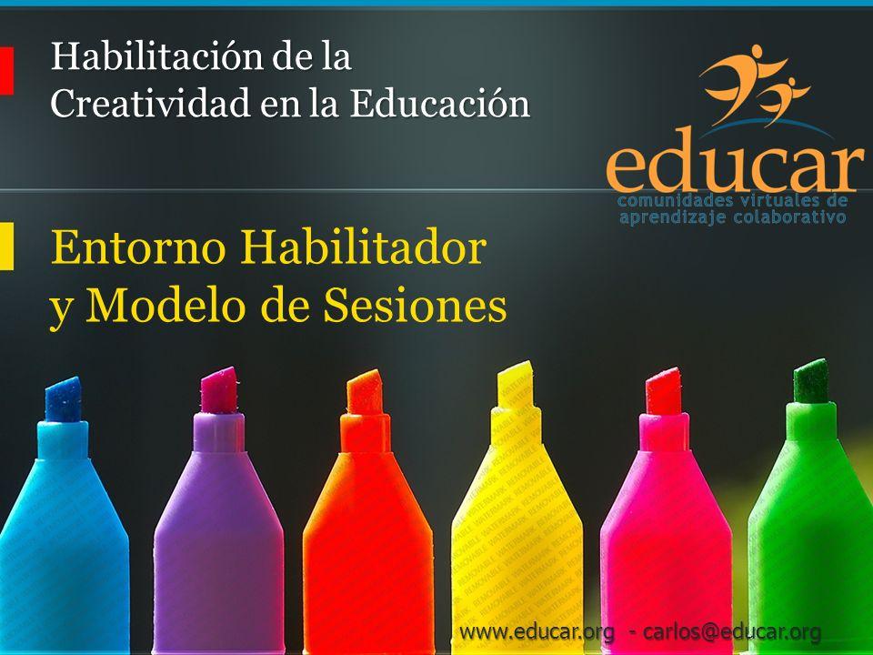Habilitación de la Creatividad en la Educación