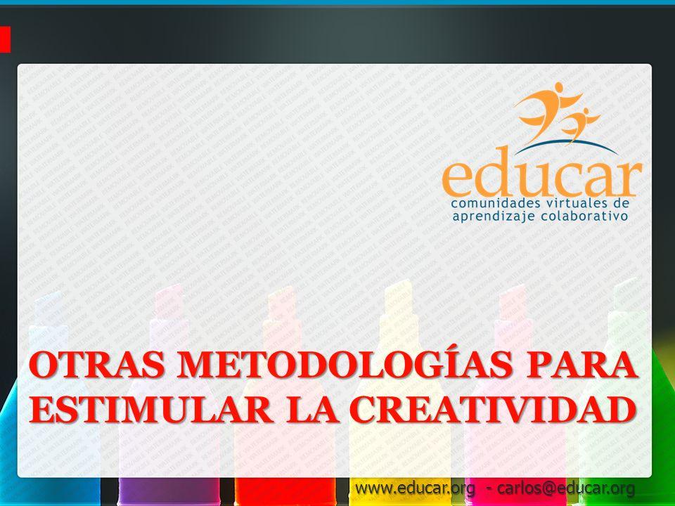 Otras Metodologías para estimular la Creatividad