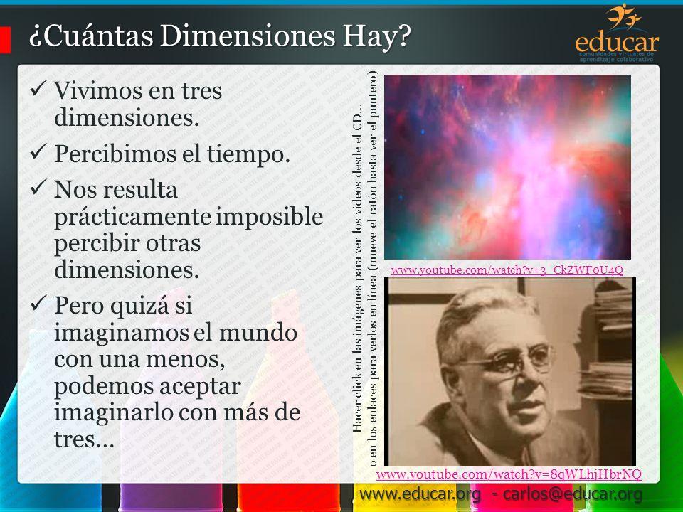 ¿Cuántas Dimensiones Hay