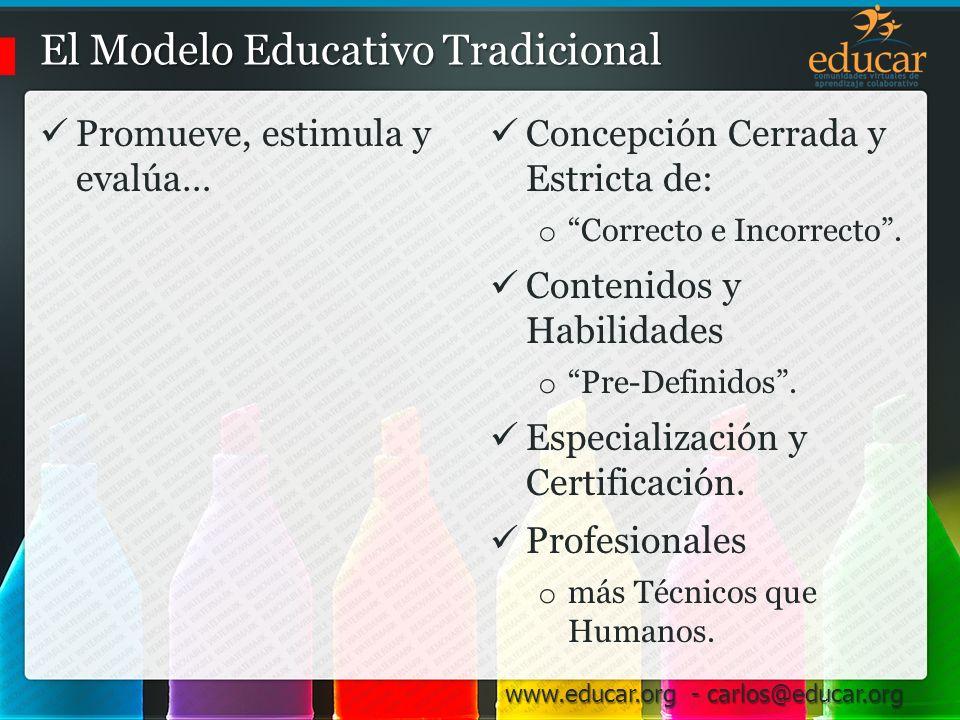El Modelo Educativo Tradicional