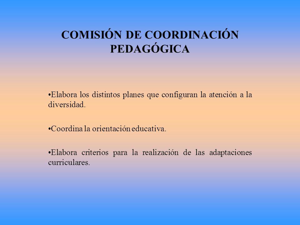 COMISIÓN DE COORDINACIÓN PEDAGÓGICA