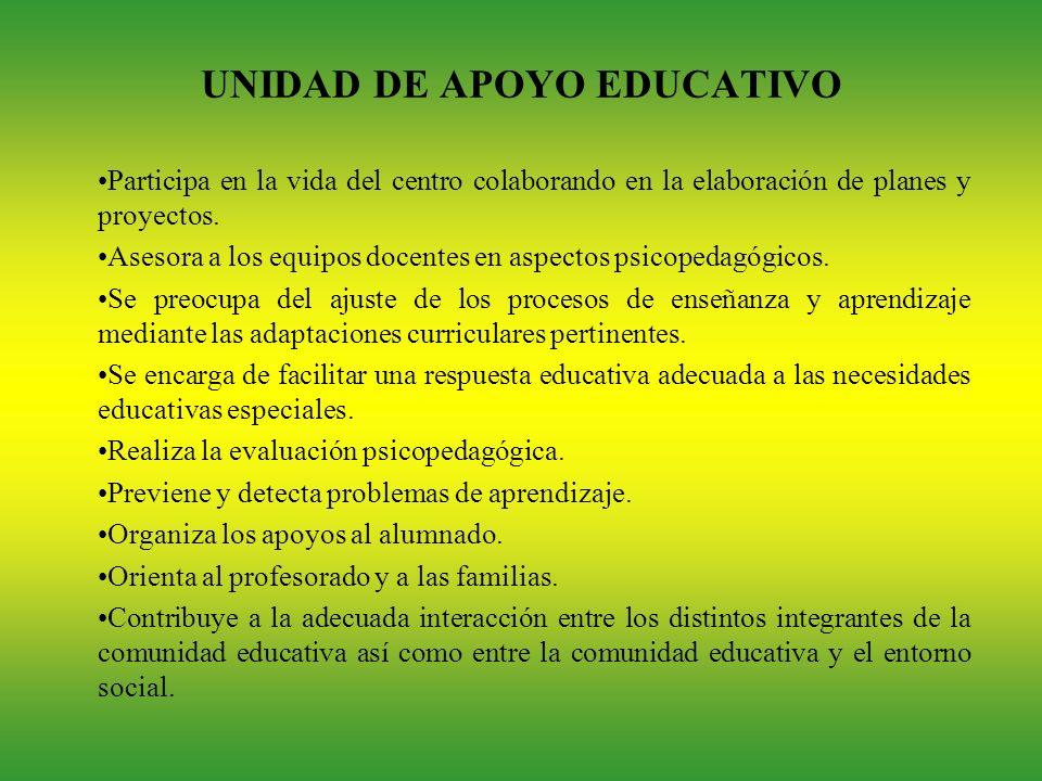 UNIDAD DE APOYO EDUCATIVO