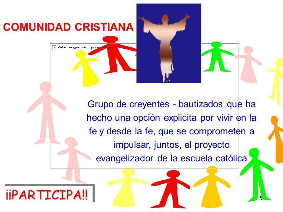 ¡¡PARTICIPA!! COMUNIDAD CRISTIANA