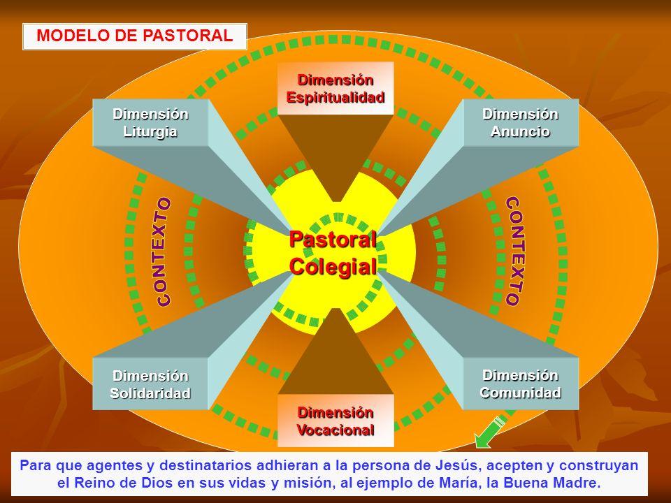 Dimensión Espiritualidad Dimensión Solidaridad