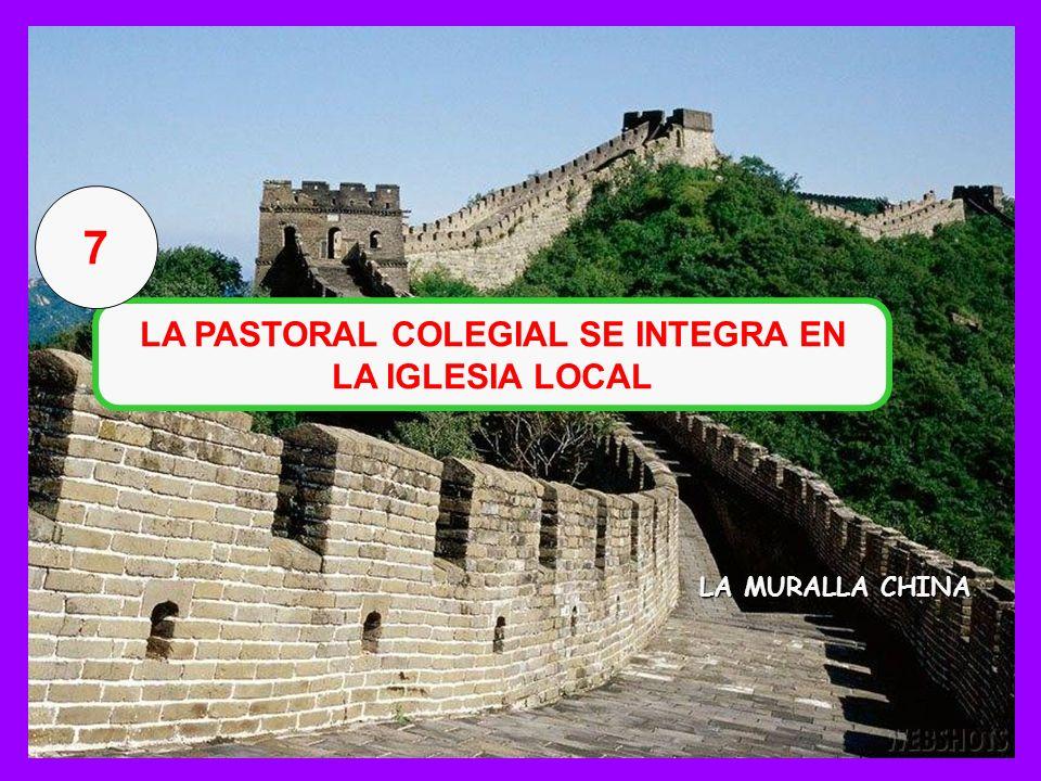 LA PASTORAL COLEGIAL SE INTEGRA EN LA IGLESIA LOCAL