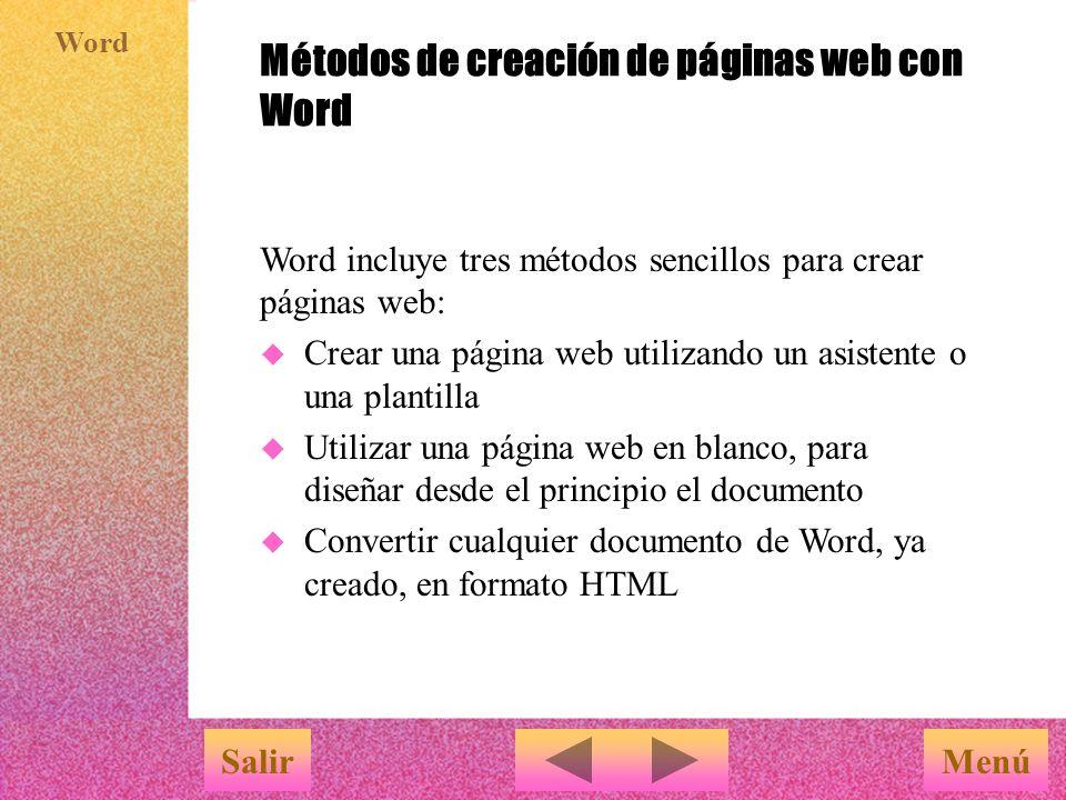 Creación de páginas web con Word - ppt descargar