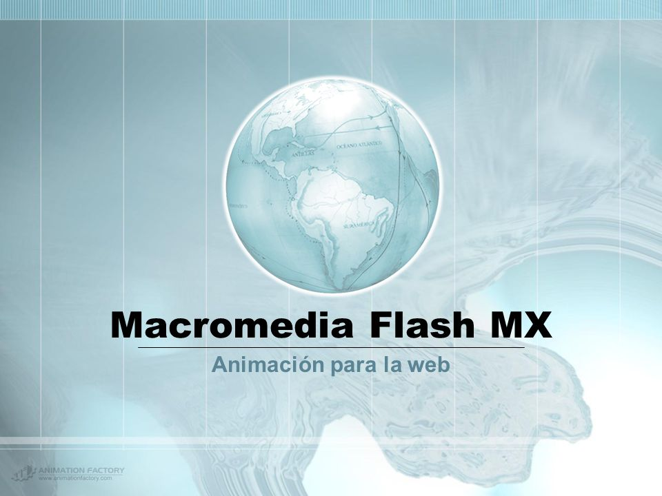 Macromedia Flash MX Animación para la web
