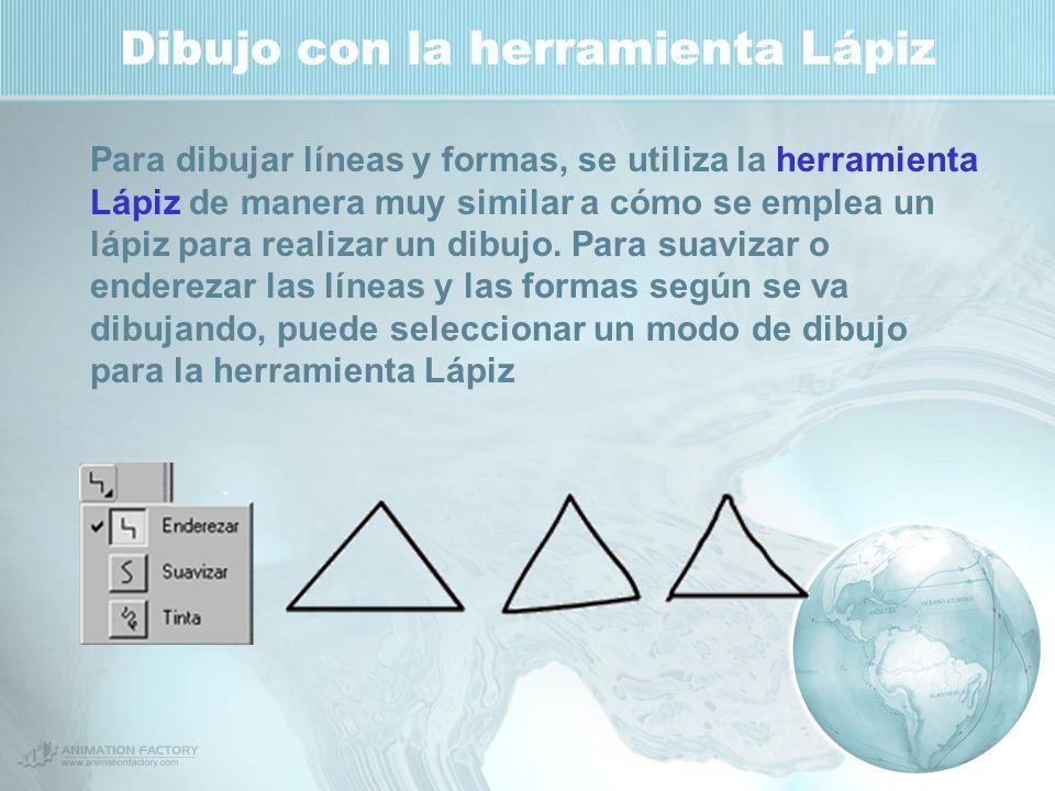 Dibujo con la herramienta Lápiz