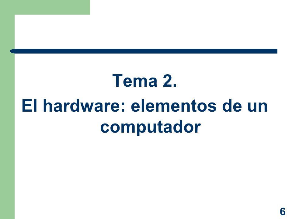 El computador ppt descargar for Elementos de hardware