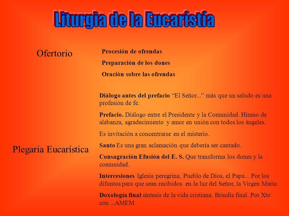 Liturgia de la Eucarístía