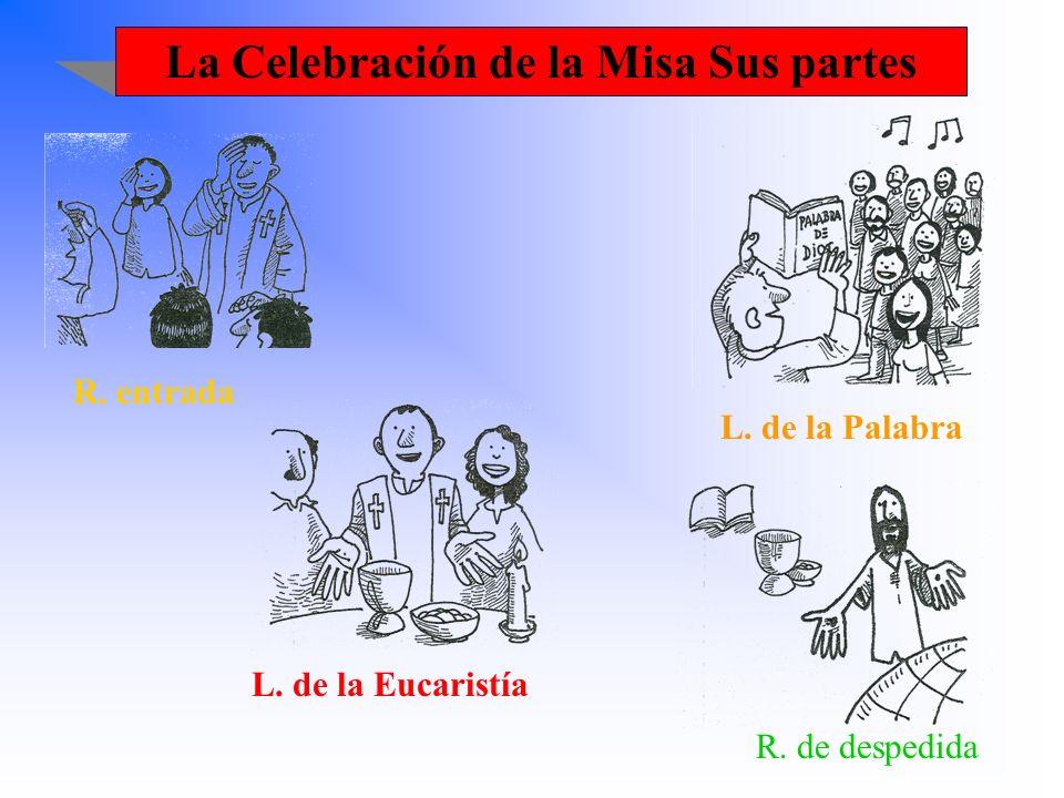 La Celebración de la Misa Sus partes
