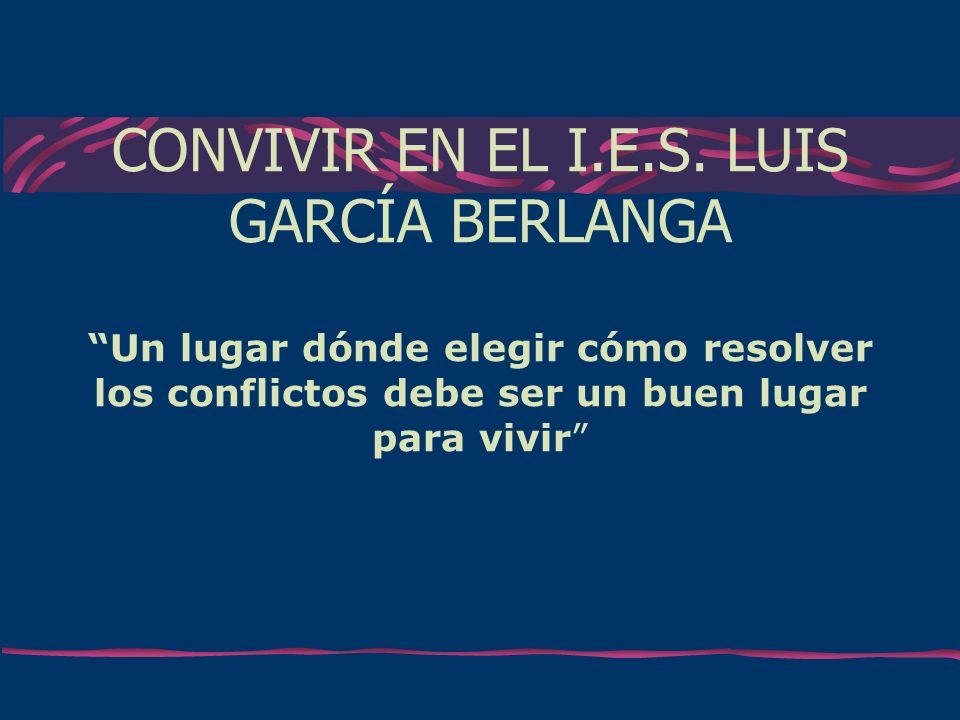 CONVIVIR EN EL I.E.S.