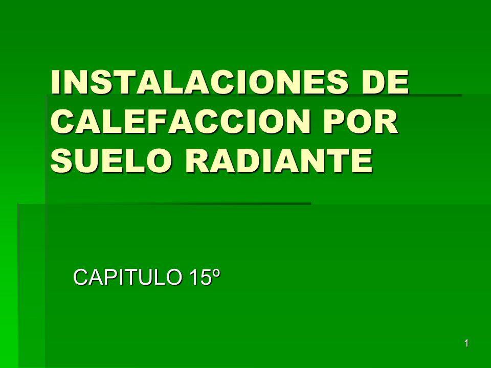 Instalaciones de calefaccion por suelo radiante ppt - Calefaccion por hilo radiante ...