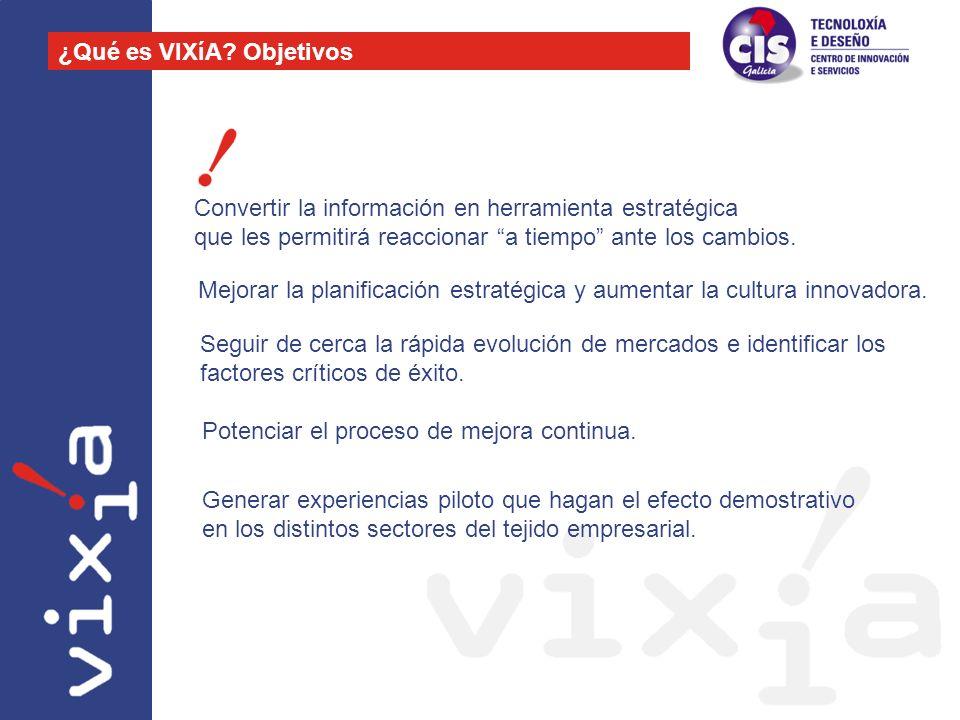 ¿Qué es VIXíA Objetivos