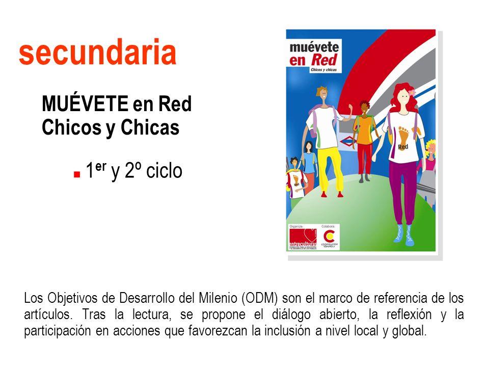 secundaria MUÉVETE en Red Chicos y Chicas 1er y 2º ciclo