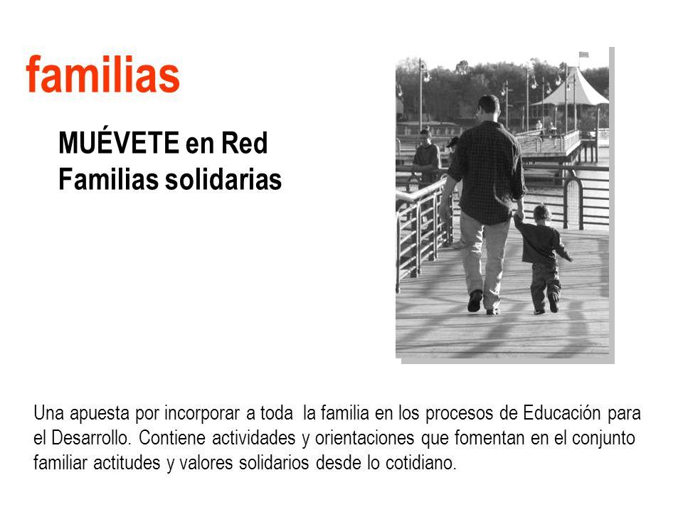 familias MUÉVETE en Red Familias solidarias