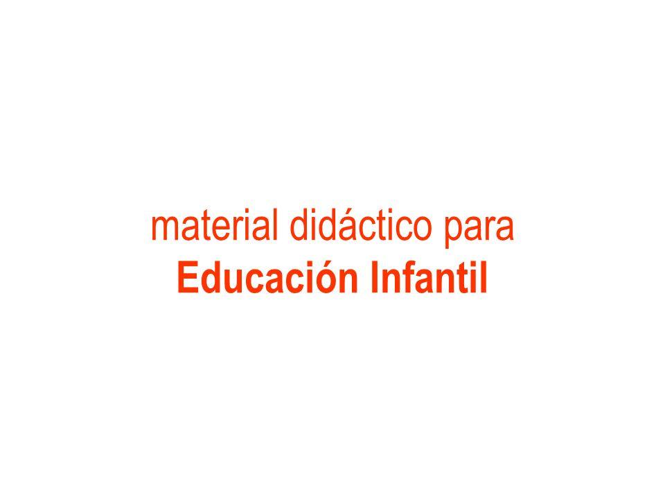 material didáctico para Educación Infantil