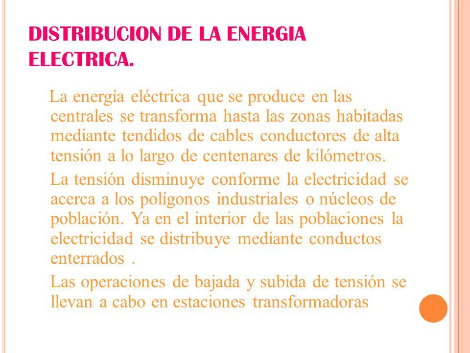 Tema 4 la producci n de energ a ppt descargar for Subida de tension electrica