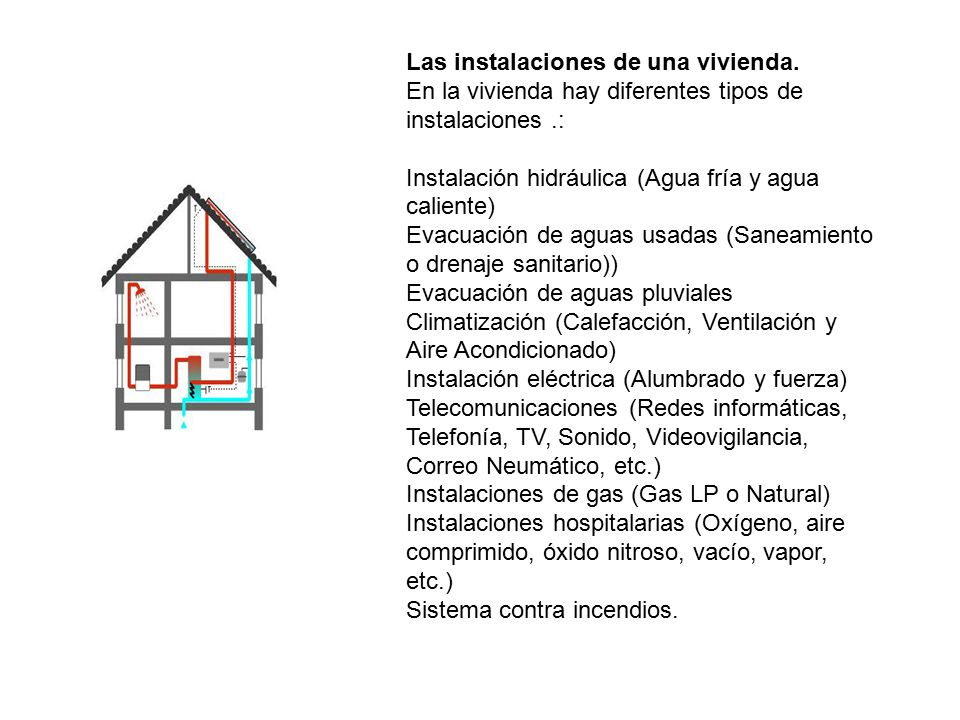 Casa rural autosuficiente ppt video online descargar for Instalaciones de gas en viviendas