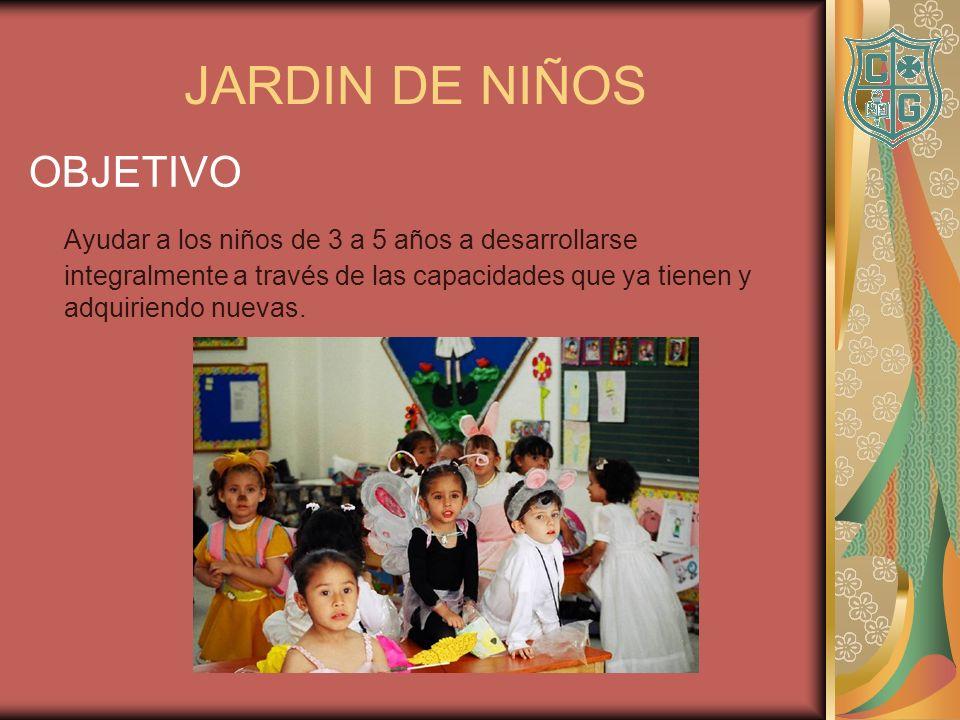 JARDIN DE NIÑOS OBJETIVO
