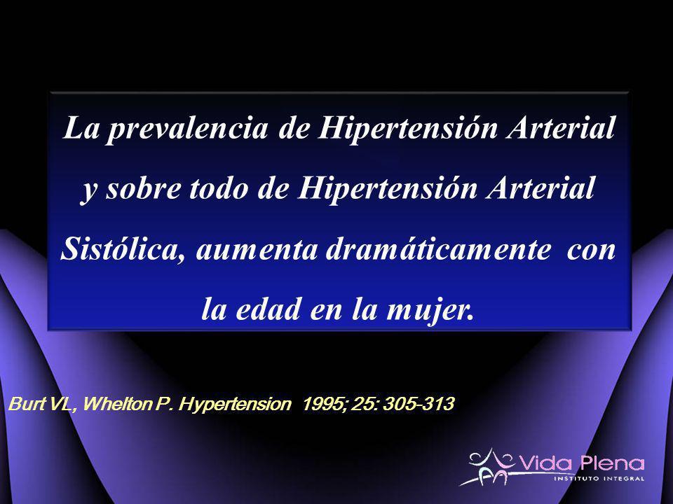Burt VL, Whelton P. Hypertension 1995; 25: 305-313
