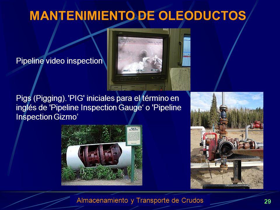 MANTENIMIENTO DE OLEODUCTOS