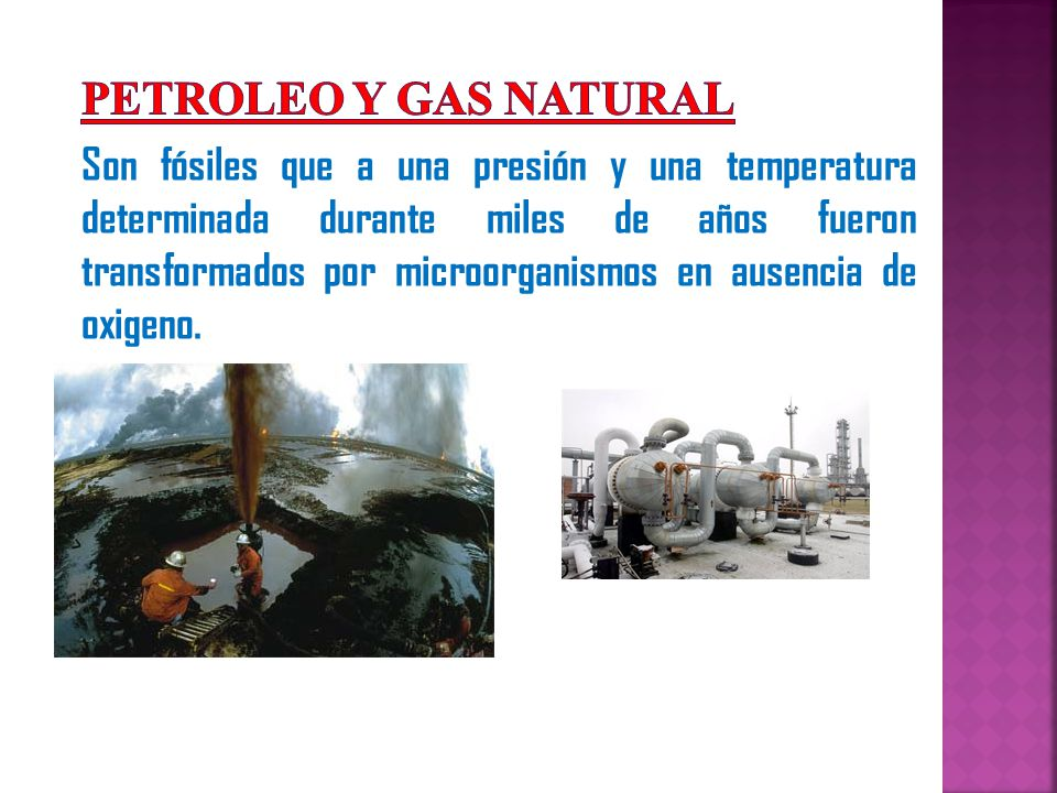 PETROLEO Y GAS NATURAL