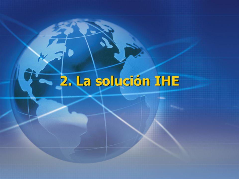 2. La solución IHE