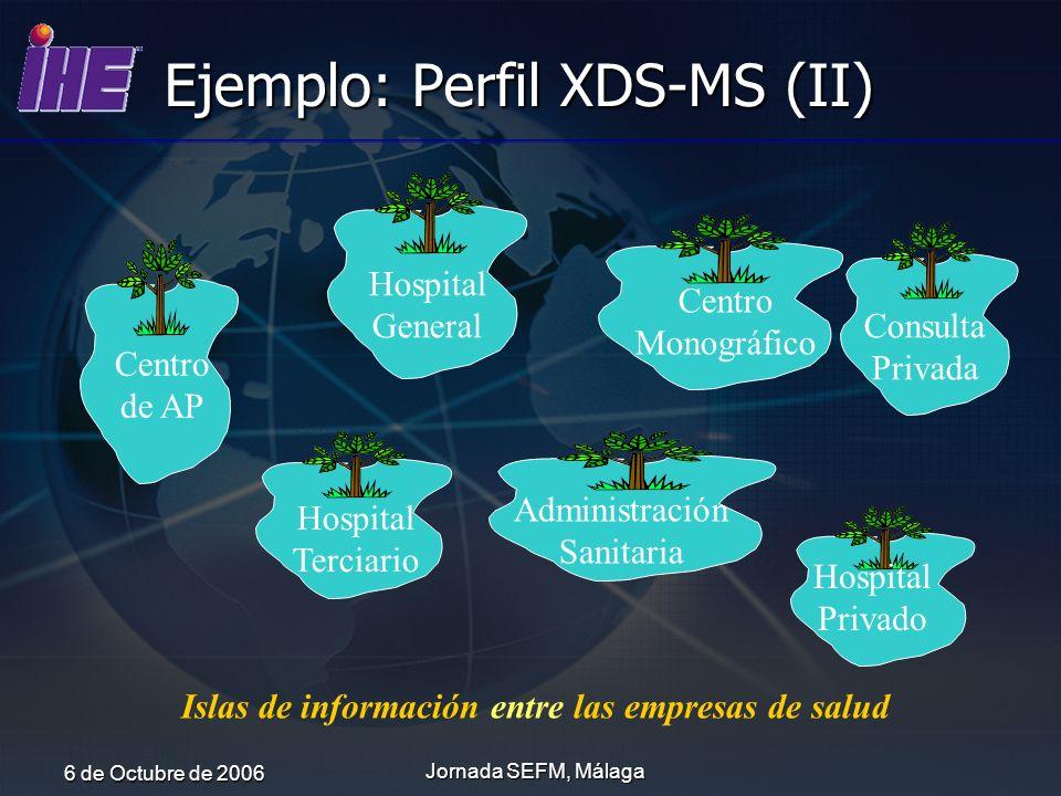 Ejemplo: Perfil XDS-MS (II)